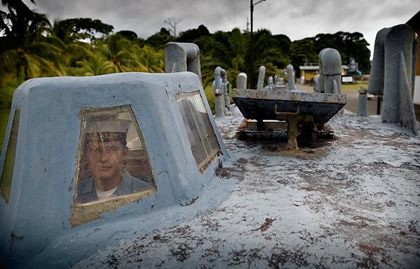 Drug smuggling submarine