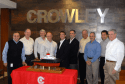Bollinger Presents Model of New Ocean Class Tug to Crowley