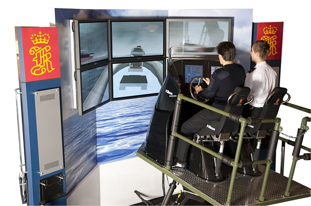 Fast Rescue Boat RIB Simulator
