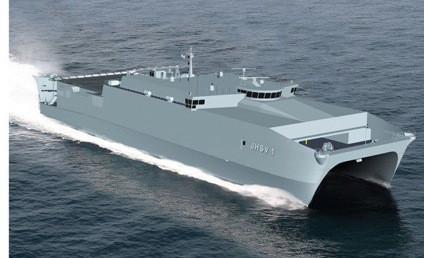 US Navy Joint High Speed Vessel JHSV