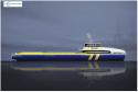 Incat Crowther's new 45m monohull crewboat