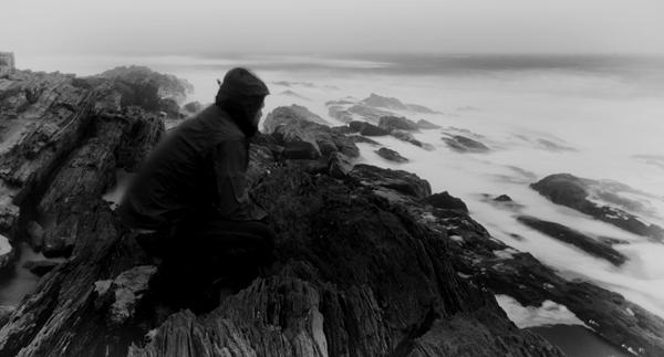 winter storm maine rocky coast ocean waves