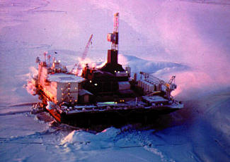 Glomar Beaufort Sea 1 arctic drilling