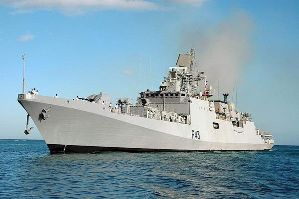INS Trishul (F43) talwar frigate