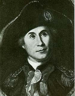 Portrait Captain John Paul Jones