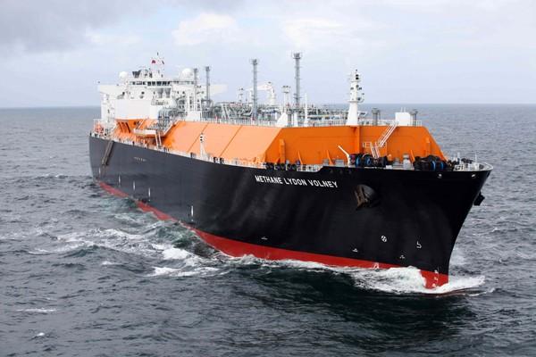 Methane Lydon Volney LNG Ship BG Group Giles Barnard