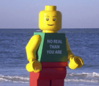 Giant Lego Man Is At It Again….