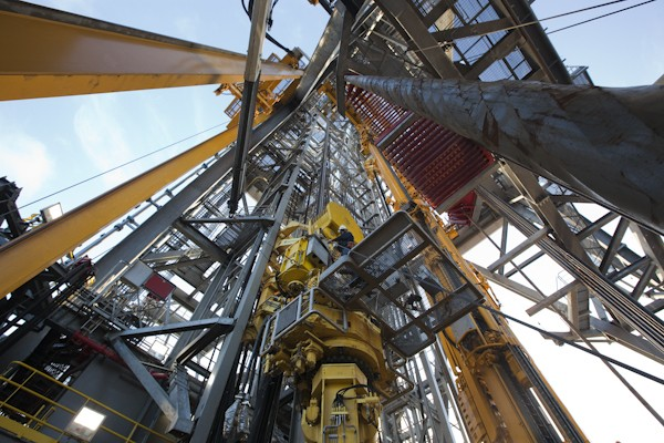 Oil Rig derrick rig floor dual activity drillship transocean offshore drilling