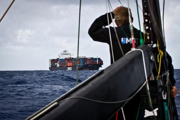 Puma Dismasted Zim Monaco Ken Read Volvo Ocean Race