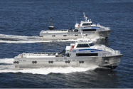 Incat Crowther's Launches New 30m Monohul Crew Boats