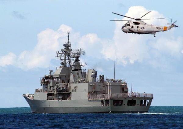 HMAS Parramatta australian warship