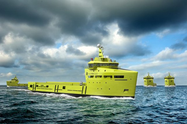 Damen PSV 3300 CD platform supply vessel