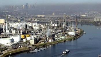 File photo of Houston Ship Channel. U.S. Coast Guard Photo