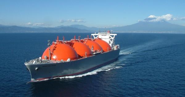 K Line LNG tanker japan