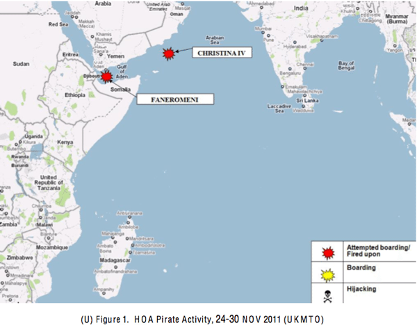 indian ocean piracy map