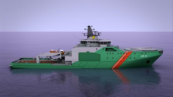 STX Finland offshore patrol vessel
