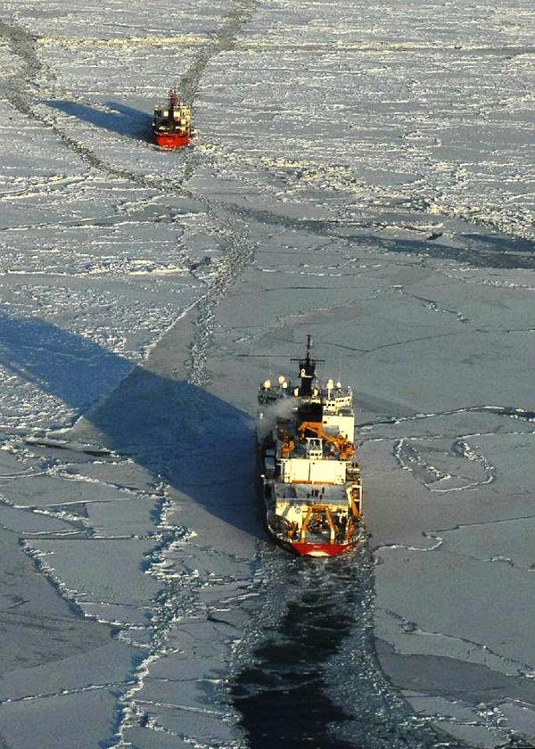 uscgc healy icebreaker escort renda nome