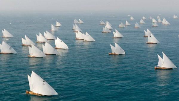 Abu Dhabi Dhow racing regatta