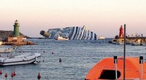 Cruiseship COSTA CONCORDIA Sinks