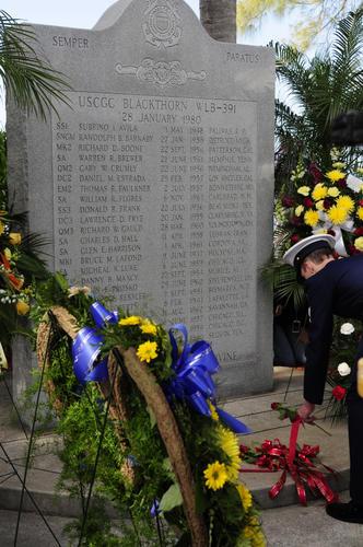 uscg memorial blackthorn