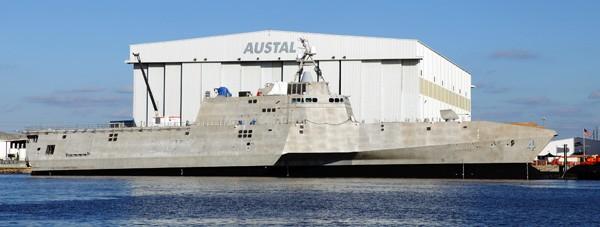 LCS4 coronado austal shipbuilding