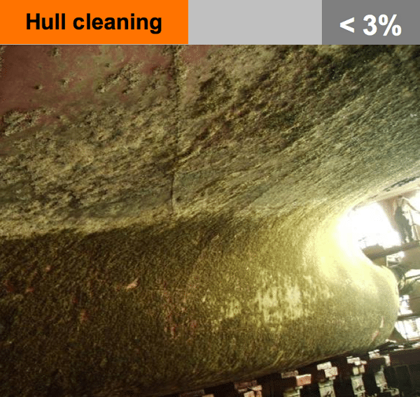 ships hull cleaning