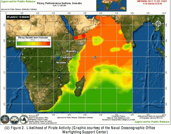 small boat piracy indian ocean forecast