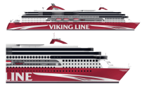 Viking Line Presents a Highly Innovative and Efficient Ferry, the NB1376