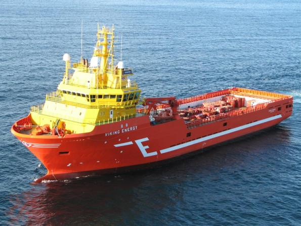 Viking energy lng powered supply boat Eidesvik