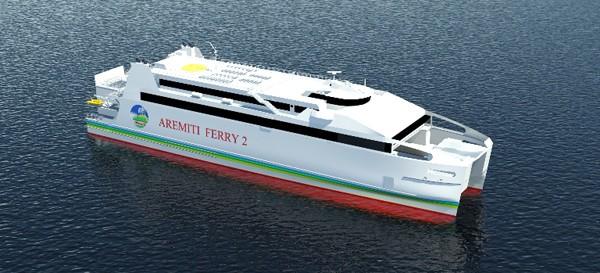 SNC Aremiti Ferry austal