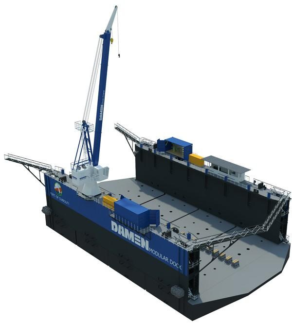 Damen modular dock
