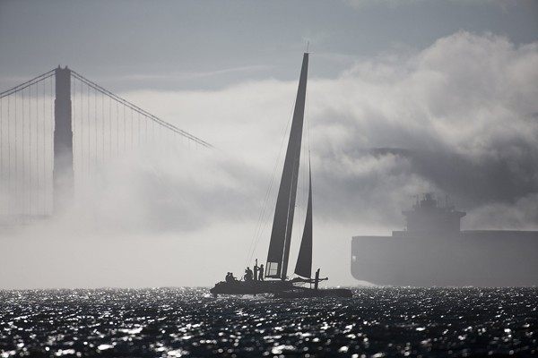 oracle racing america's cup san francisco ship