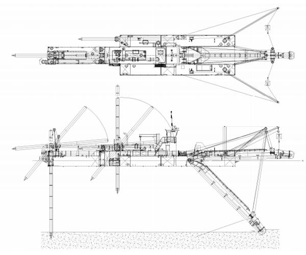 CSD cutter suction dredge Damen