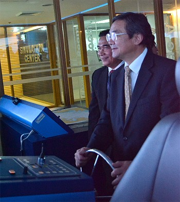 IMO   Secretary General Sekimizu Chief Engineer Fred Haboc