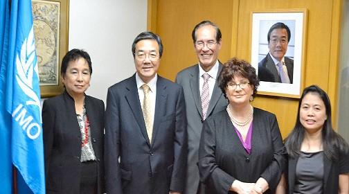 IMO Secretary General brenda pimentel