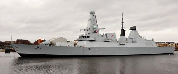 Type 45 destroyer defender royal navy warship