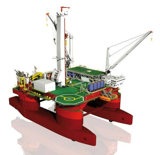 Helix ESG Q4000 well intervention semisubmersible