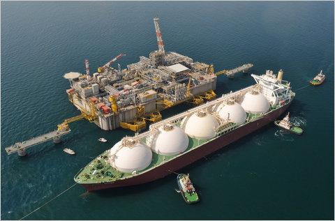 LNG terminal regasification exxonmobil
