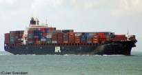 Diana Containerships Receives the APL Spinel, Fleet Grows to 9