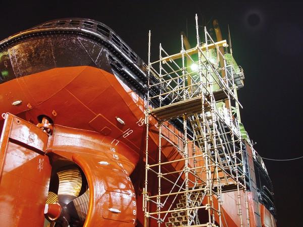 tugboat shrouded propeller shipyard