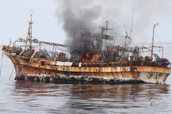Japanese fishing vessel Ryou-un Maru