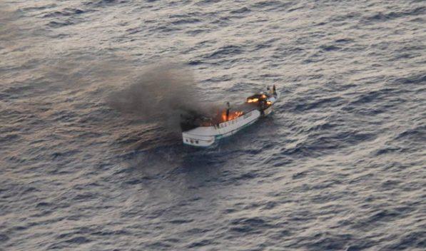 Semirio Taiwanese fishing vessel Shin Maan Chun
