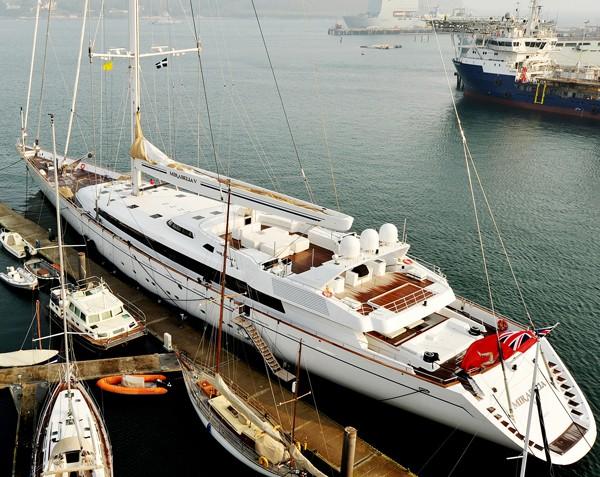 Mirabella V pendennis shipyard