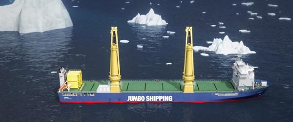 jumbo shipping k-class ice