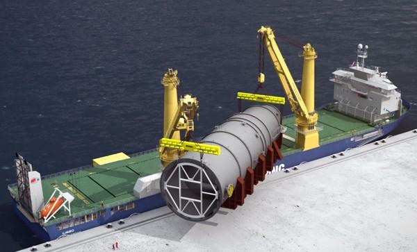 jumbo shipping k-class cargo ship