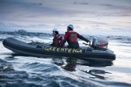 Greenpeace On Scene To Harass Emergency Operations