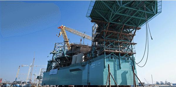 LeTourneau Technologies Super 116E jackup drilling rig lamprell
