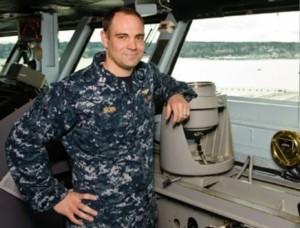 Navy's Top Ship Handler Lt. Zachary Brown