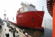 Guangzhou Shipbuilding Delivers the FORTE to Fairstar Heavy Tranport