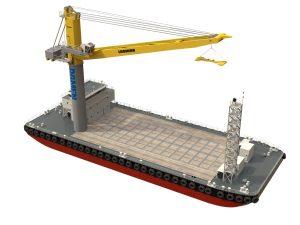 Damen Crane Barge CBa 6324